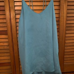 Blue tank top. Perfect condition.